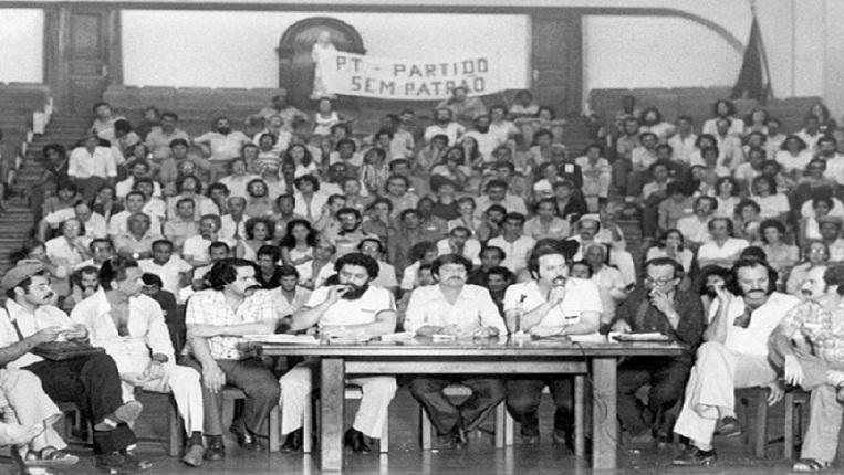 Resultado de imagen para fundacion del pt en brasil