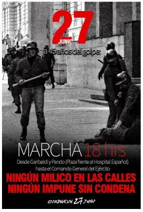 La represión de ayer y hoy