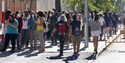 Crecen los contagios de Covid-19 en Madrid y se teme una segunda ola