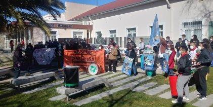 Personal de Salud de Río Negro participó de la jornada de lucha nacional