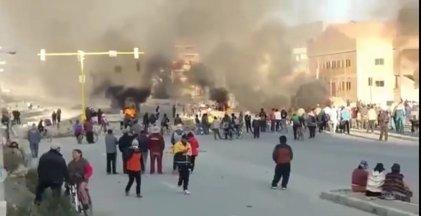 Bolivia: vecinos autoconvocados realizaron bloqueos en Senkata
