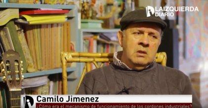 """Camilo Jiménez: """"El cordón industrial fue una herramienta de defensa política, económica y también militar"""""""