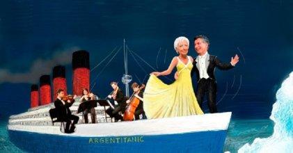 Entre caballeros del saqueo y capitanes del Titanic, derrotemos al FMI
