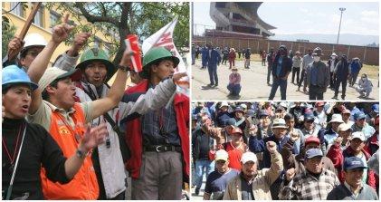 Mineros despedidos en Perú fueron detenidos por defender sus puestos de trabajo