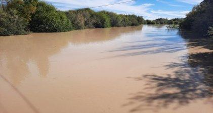 Por turbiedad en el río Chubut se suspendió el suministro de agua en ciudades del Valle