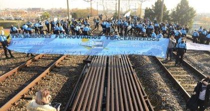 Tercerizados ferroviarios tendrán nueva reunión con el Gobierno este jueves y ya anuncian medidas de lucha