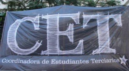 La CET: espacio vaciado y burocrático del movimiento estudiantil terciario