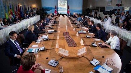 Una cumbre áspera: el G7 atravesado por discusiones sobre Rusia y el libre comercio