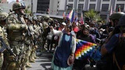 Exigen la libertad de los presos políticos del Gobierno golpista de Áñez