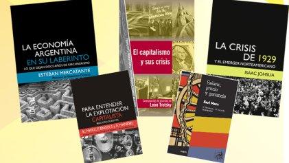 Cinco libros para entender la crisis económica actual