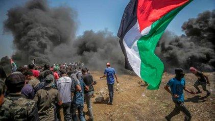 Nueva jornada de protestas en Palestina en el 70 aniversario de la Nakba
