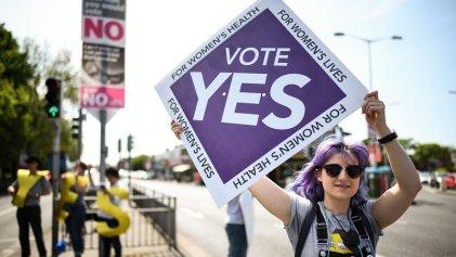 Irlanda vota en un referéndum para permitir el aborto legal