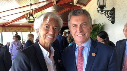 """Lagarde: """"Reiteré mi apoyo a los planes del Gobierno argentino"""""""