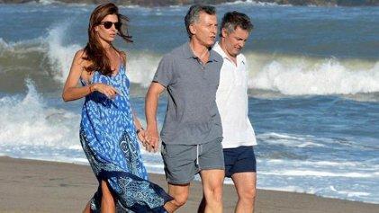 Mientras reprimían en Siam, Macri salía otra vez de vacaciones