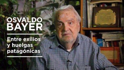 [Video] Osvaldo Bayer en primera persona, la entrevista que le hizo La Izquierda Diario