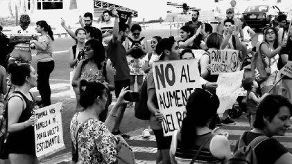 San Martín: concentración contra el aumento del boleto