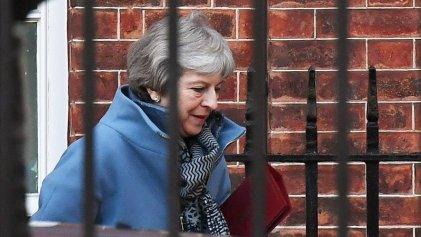 Día clave para el Brexit y para Theresa May