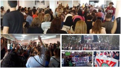 Oferta mentirosa de Vidal: gran rechazo docente y maniobras de Baradel