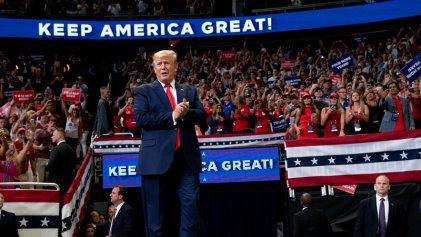Trump oficializó su campaña para la reelección en 2020