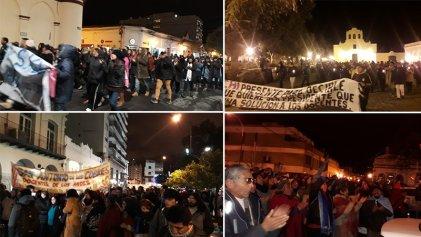 Con masivas movilizaciones y cortes de ruta repudian represión de Urtubey a docentes