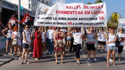 Fin de fiesta: huelga de las trabajadoras de limpieza en Ibiza