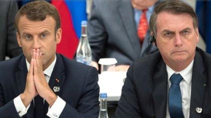 Bolsonaro dice que solo aceptará ayuda del G7 para la Amazonia si Macron se retracta