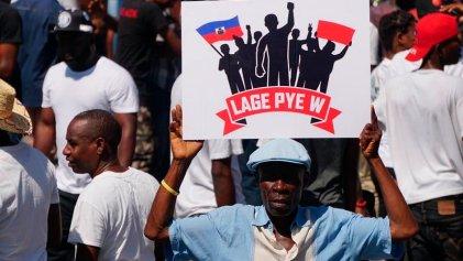 Nueva manifestación en Haití exigió renuncia del presidente Jovenel Moise