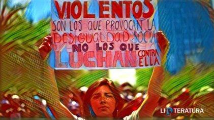 Poesía para un Chile rebelde: el derecho a vivir en paz