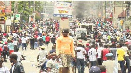 Haití: ocho semanas en las calles