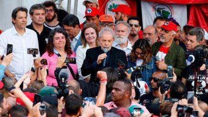 Discurso de Lula: duro con la Lava Jato, conciliador con otros sectores