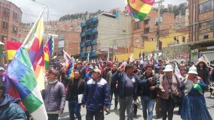 [Video] Bolivia: Cabildo de vecinos de El Alto tras multitudinaria movilización a La Paz