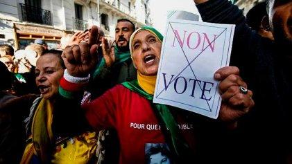 Argelia prepara las elecciones en medio de protestas y llamados al boicot