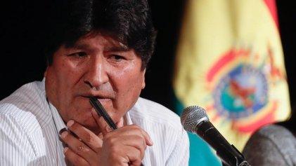El Gobierno golpista de Bolivia emite orden de detención contra el expresidente Evo Morales