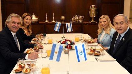 Israel: Fernández se reunió con Netanyahu y evitó hablar de la masacre al pueblo palestino