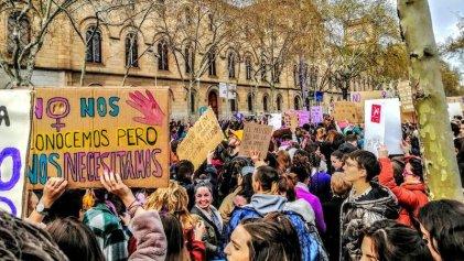Estado español: 8M con marchas en Madrid y piquetes en Barcelona