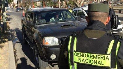 Neuquén: Gendarmería detuvo a persona con problemas respiratorios en un espacio reducido