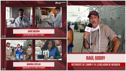 [Video] MadyGraf, Textil Traful Newen y Zanon, las gestiones obreras ante la crisis