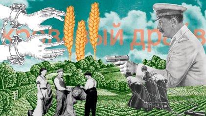 La colectivización estalinista y los trotskistas soviéticos