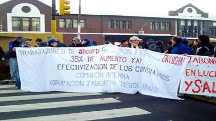 La fábrica de jabones Alicorp de La Matanza despidió contratados en plena pandemia