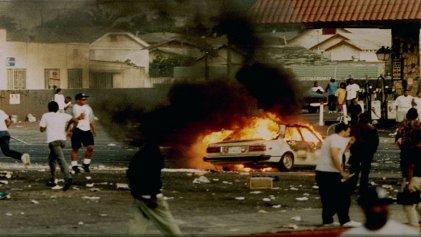 La revuelta de Los Ángeles en el '92