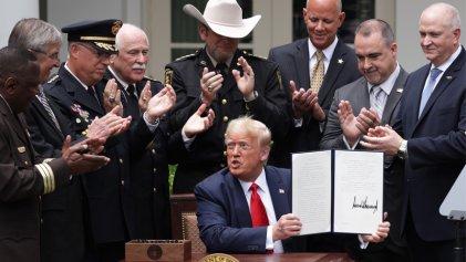 """La """"reforma"""" policial de Trump es un insulto"""