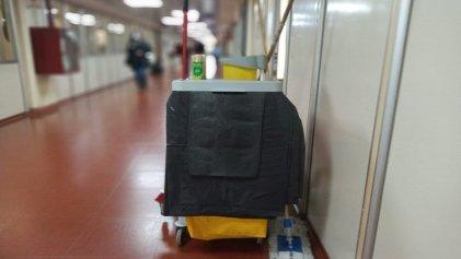 Hospital Garrahan: Floor Clean se lleva 27 millones de pesos mientras precariza a los trabajadores de limpieza