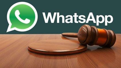 Increíble: ahora Morales hace juicios por Whatsapp
