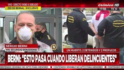"""El punitivismo de Berni y el despolitizado debate sobre """"el jubilado y el ladrón"""""""