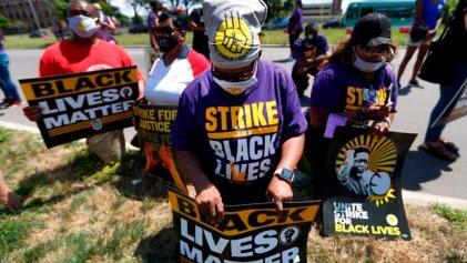 """Decenas de miles fueron parte de la """"Huelga Nacional por las Vidas Negras"""" en Estados Unidos"""