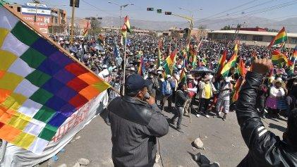 La situación se tensa en Bolivia
