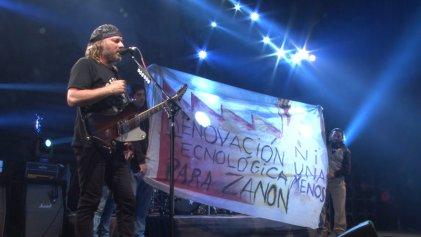 Segundo festival internacional de Música por Zanon renovó su compromiso con las gestiones obreras