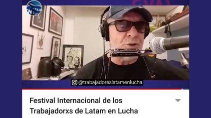 Miles de personas vieron el festival internacional y continúa el apoyo a la lucha de Latam
