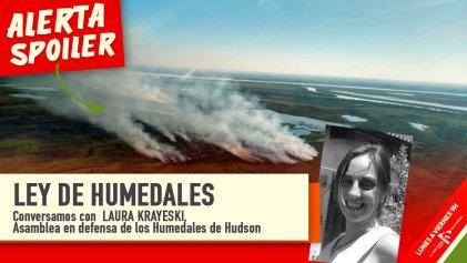 """Laura Krayeski: """"Los incendios se dan por el desmonte, el agronegocio y la especulación inmobiliaria"""""""