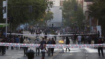 Nuevo viernes de protestas en Plaza Dignidad de Chile contra el Gobierno de Piñera